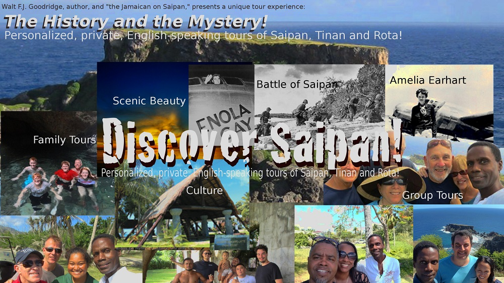 Discover Saipan with the Jamaican on Saipan!