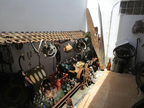 B29 propellers, coke bottle, prewar railroad tracks and much more