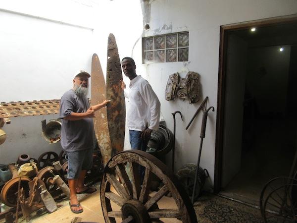 Battle of Saipan relic hunter