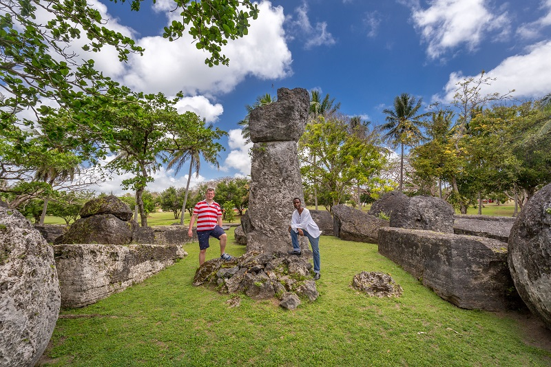 House of Taga on Tinian